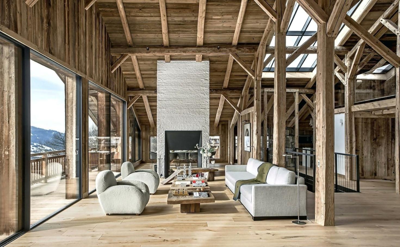 Contemporary Rustic House interior